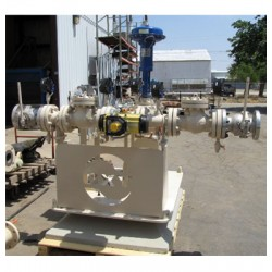 Dual Process Skid / Pressure and B&SW Divertor